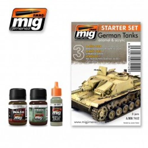 AMMO: Starter Set - German Tanks Set