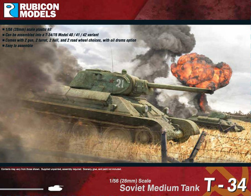 Rubicon Models T-34/76 Early & Mid War