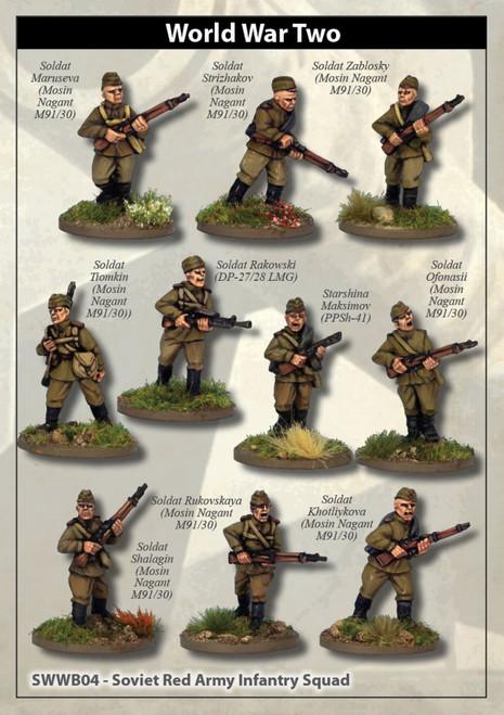 Soviet Army Squad I