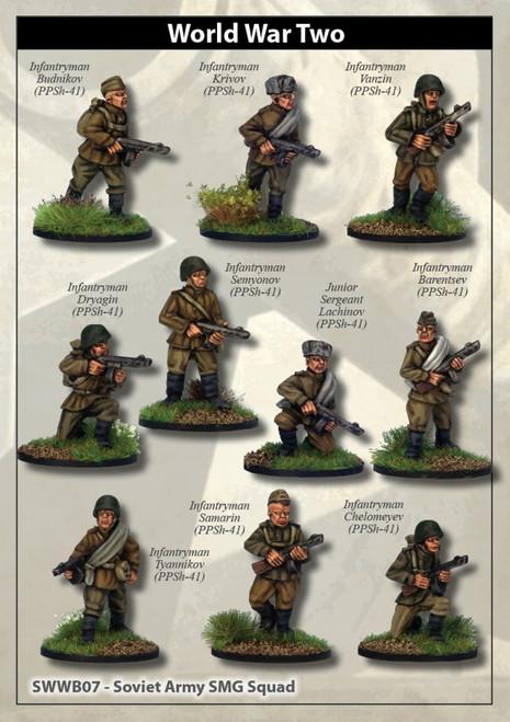 Soviet Army SMG Squad
