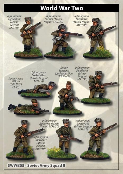 Soviet Army Squad II