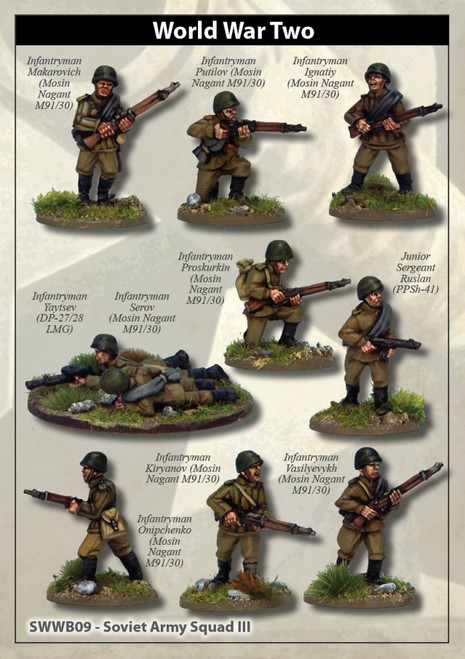 Soviet Army Squad III