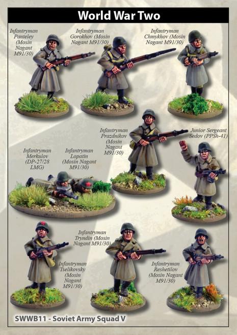 Soviet Army Squad V