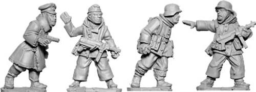 Late War German Officer & NCOs (Winter)