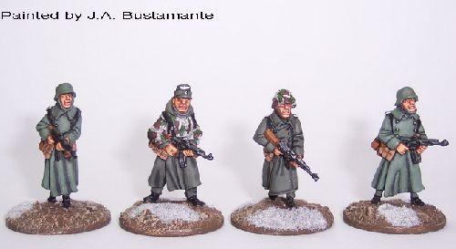 Late War Germans (Winter) MP44