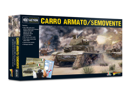 Bolt Action: Carro Armato / Semovente