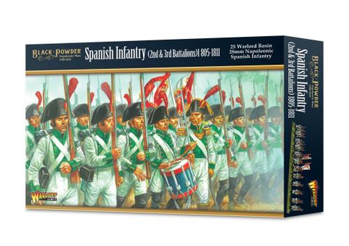 Black Powder: Napoleonic Spanish Infantry (2nd & 3rd Battalions) 1805-1811