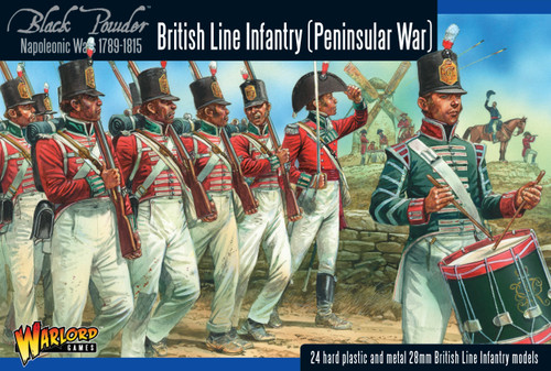 Black Powder: British Line Infantry (Peninsular)