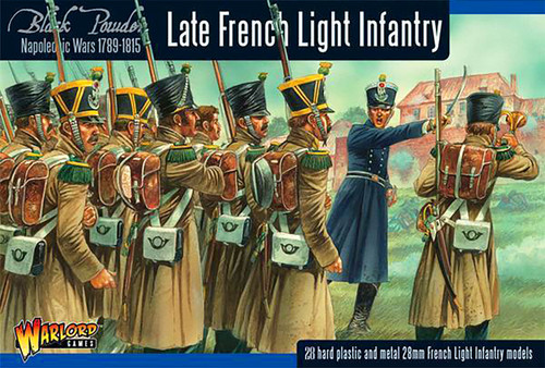 Black Powder: French Late War Light Infantry (Waterloo)