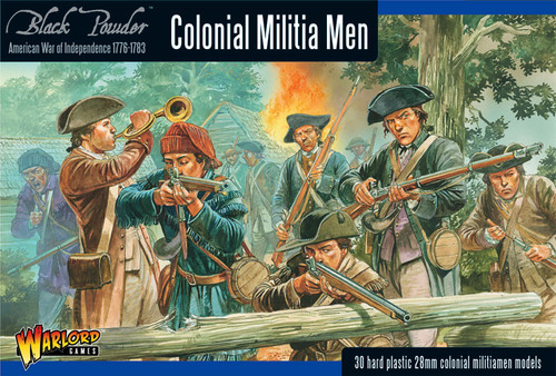 Black Powder: Colonial Militia Men