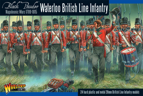 Black Powder: British line Infantry (Waterloo) (24)