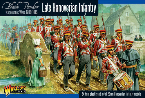 Black Powder: Hanoverian Infantry (24)