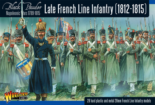 Black Powder: Late French Line Infantry (1812-1815) Revised