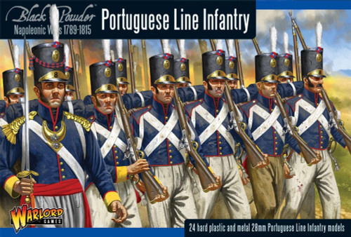 Black Powder: Portugese Line Infantry