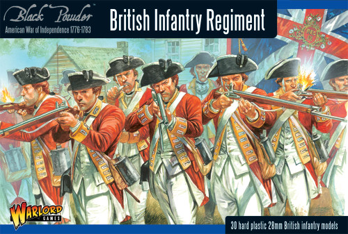 Black Powder: British Infantry Regiment