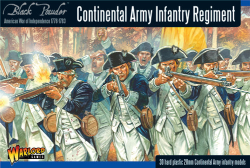 Black Powder: Continental Infantry Regiment