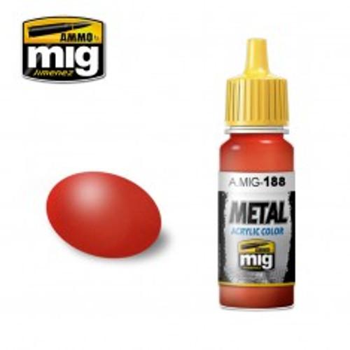 Ammo Metal - Metallic Red