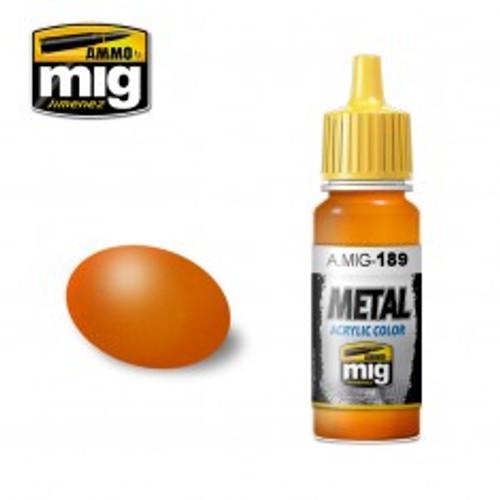 Ammo Metal - Metallic Orange