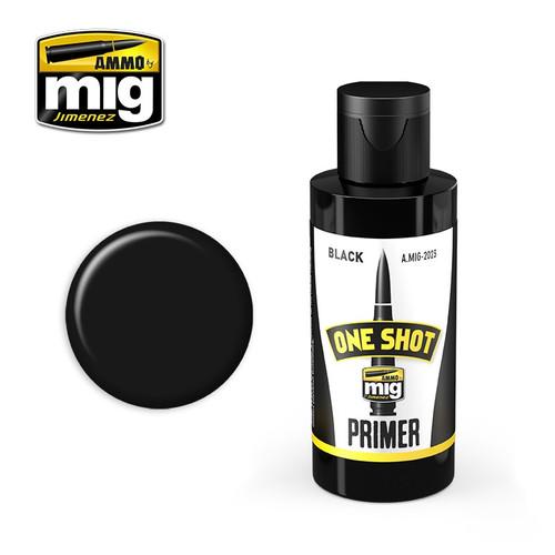 One Shot Primer - Black