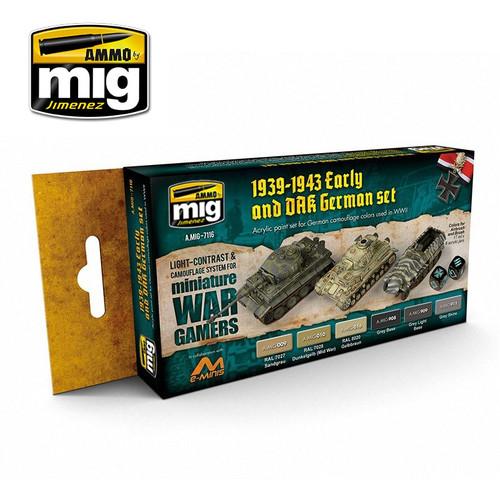 Wargame Early And Dak German Set