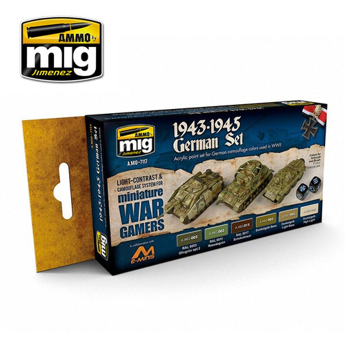 Wargame 1943-1945  German Set