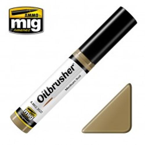 Ammo: Oilbrusher - Medium Soil