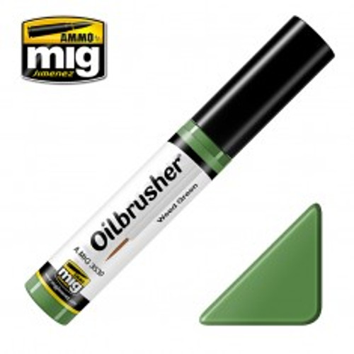 Ammo: Oilbrusher - Weed Green