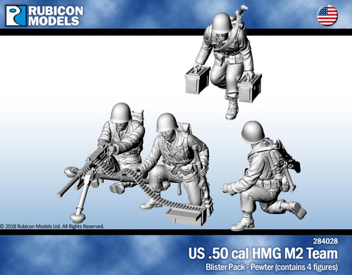 Rubicon Models US .50 Cal HMG Team