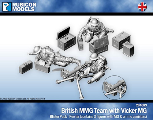 Rubicon Models British Vickers Machine Gun Team