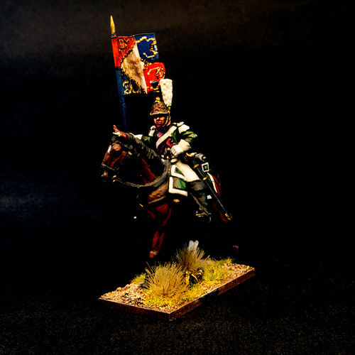French Dragoons pre 1812 - Command (3/pk)