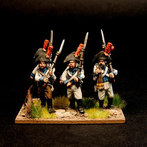Spanish Line Infantry (6/pk)