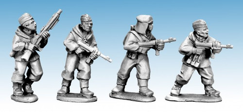 Soviet Scouts with German Weapons