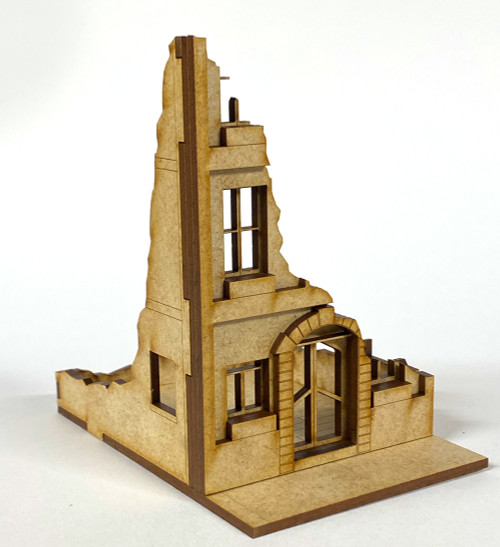 28mm Ruined Building - 28MMDF515-2