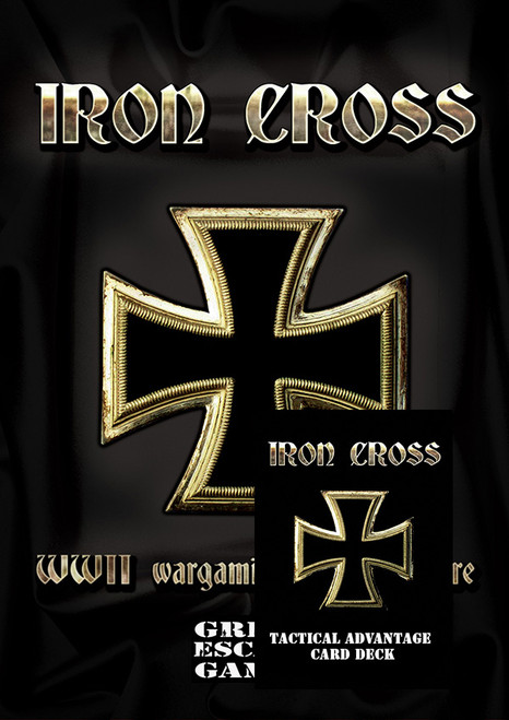 Iron Cross Rule Book with Tactical Advantage Card Deck