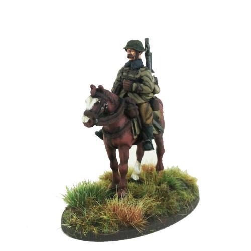 Mounted Hungarian Huszar LMG Gunner - 1 mounted models