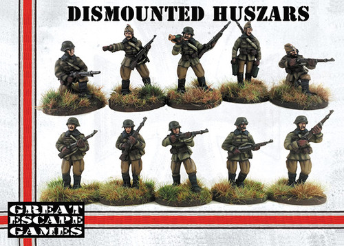 Hungarian Dismounted Huszar Troop
