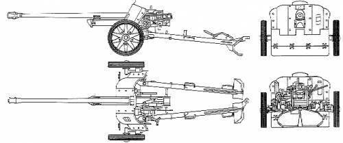 Romanian PaK38 Anti-tank Gun - Summer Uniform