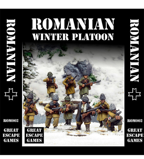 Romanian Platoon - Winter Uniform
