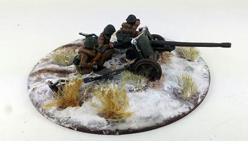 Romanian PaK38 Anti-tank Gun - Winter Uniform