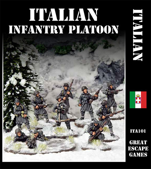 Italian Platoon - Winter Uniform