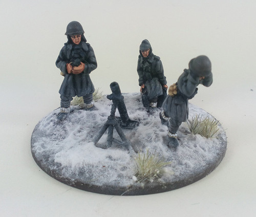 Italian 81mm Mortar - Winter Uniform