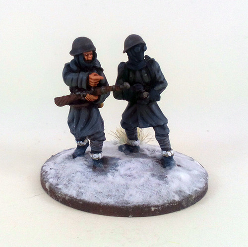Italian Flamethrower Team - Winter Uniform