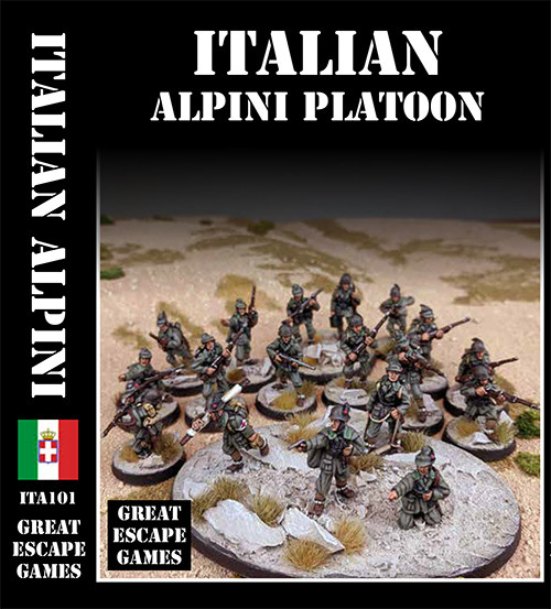 Italian Alpini Platoon - Summer Uniform