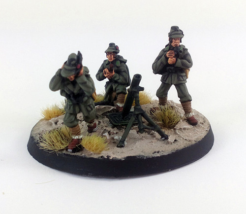 Italian Alpini 81mm Mortar - Summer Uniform