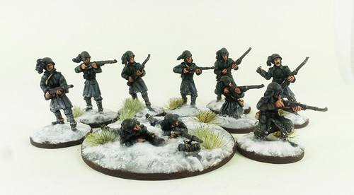 Italian Bersaglieri Squad A - Winter Uniform