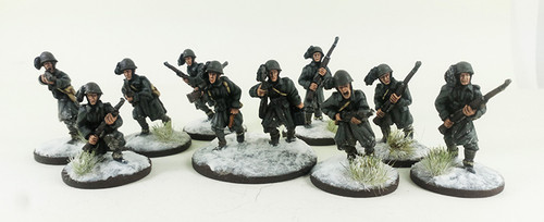 Italian Bersaglieri Squad B - Winter Uniform