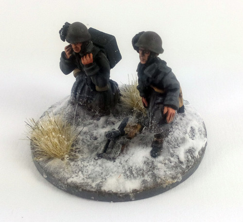 Italian Bersaglieri Brexia 45mm Mortar - Winter Uniform