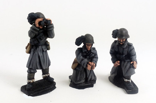 Italian Bersaglieri Anti-tank Gun Crew - Winter Uniform