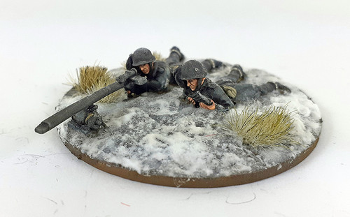 Italian Bersaglieri Solothurn Anti-tank Rifle Team - Winter Uniform