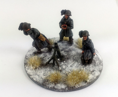 Italian Bersaglieri 81mm Mortar - Winter Uniform